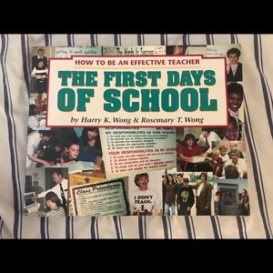 The First Days of School Book